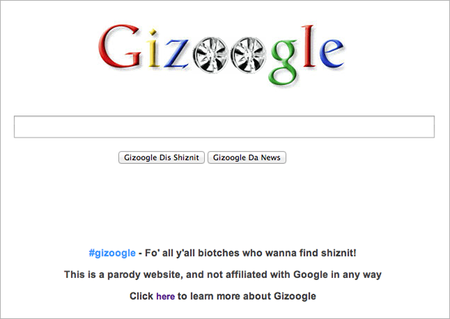 WEBSITE OF THE DAY: Gizoogle