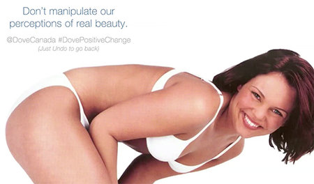 Dove creates covert Photoshop action that catches airbrushing out