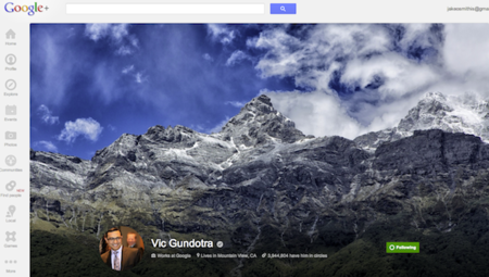 Google+ updated with local reviews tab and larger cover photos