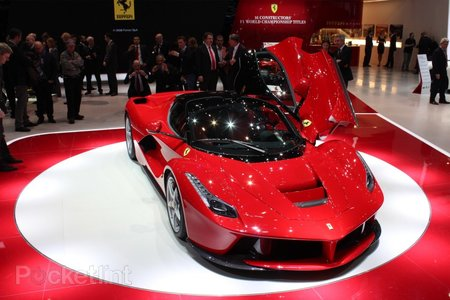 Ferrari LaFerrari pictures and eyes-on
