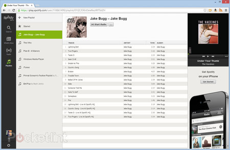 Spotify Web Player now live in UK, play your music through a browser - photo 3