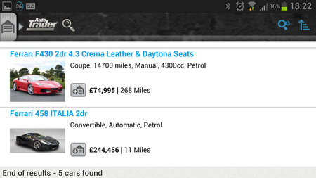 APP OF THE DAY: Autotrader review (Android) - photo 7
