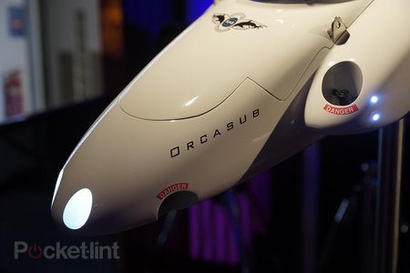 Spymaster Orcasub: The $2 million made-to-order private submarine shown as mock-up at Harrods - photo 3