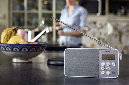 Sony XDR-S40DBP digital radio brings colour to your listening
