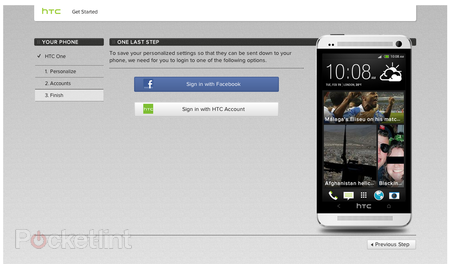 How to setup your HTC One: HTC Transfer Tool, Sync Manager or Get Started online - photo 3
