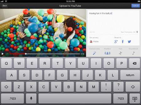 YouTube capture app gets iPad compatibility
