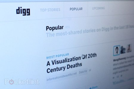 Social news website Digg announces plans for Google Reader replacement