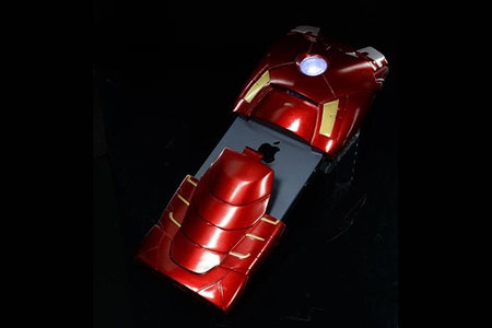 Turn your iPhone 5 into a superhero with the Iron Man Mark VII case