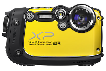 Fujifilm FinePix XP200 is an extra tough, Wi-Fi connected camera