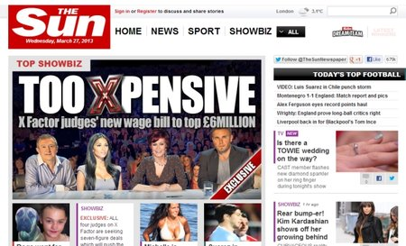 News International to put The Sun behind paywall, joins growing list of newspapers after your cash