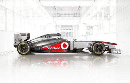 The story behind McLaren's chrome silver Formula One cars - photo 1