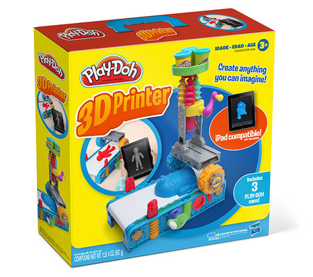 Play-Doh 3D Printer: ThinkGeek's best April Fools yet? - photo 2