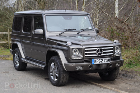 Mercedes-Benz G-Class G350 BlueTEC pictures and hands-on
