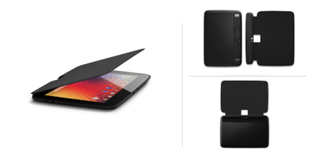 Google launches a Book Cover for the Nexus 10, the first official accessory for the tablet