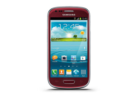 Red Galaxy Tab 2 7.0 and Galaxy S3 Mini on sale at Carphone Warehouse