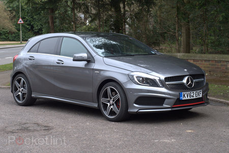 Mercedes A Class 250 BlueEFFICIENCY engineered by AMG pictures and hands-on