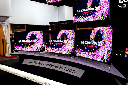 LG curved OLED TVs to launch later this year