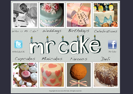 Website of the Day: Mr Cake