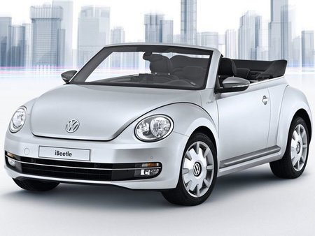 New VW iBeetle unveiled, ultimate iPhone-compatible car