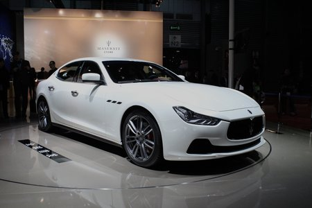 Maserati Ghibli pictures and hands-on