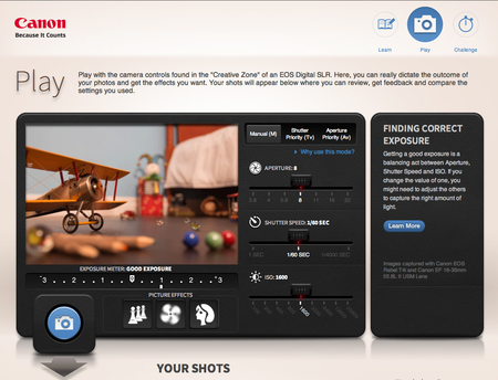 Website of the Day: Canon Explains Exposure