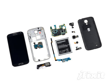 Samsung Galaxy S4 teardown reveals repairability ease