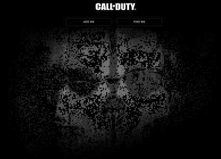 Next Call of Duty teaser site goes live, shows Ghost's mask
