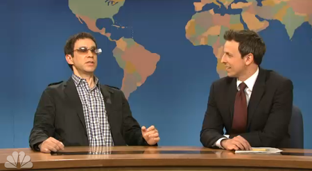 Saturday Night Live parodies Google Glass (video)