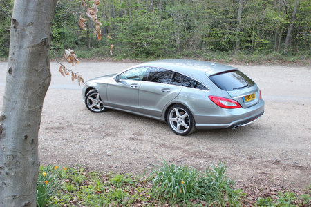 Mercedes-Benz CLS 250 CDI BlueEfficiency AMG Sport Shooting Brake review - photo 11