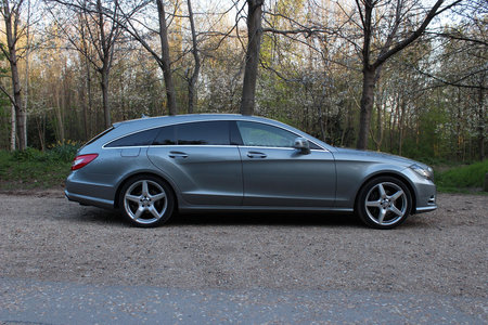 Mercedes-Benz CLS 250 CDI BlueEfficiency AMG Sport Shooting Brake review - photo 14