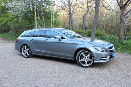 Mercedes-Benz CLS 250 CDI BlueEfficiency AMG Sport Shooting Brake review - photo 2