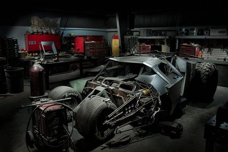 Batmobile to race in Gumball rally, team builds custom Batman Tumbler - photo 7