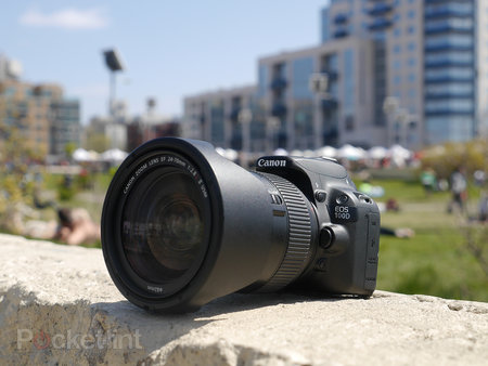 Canon EOS 100D review - photo 1