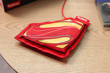 Nokia Superman Man of Steel Fatboy charging pillow: A superphone needs a superhero charger