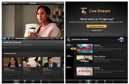 First major US broadcaster begins live streaming content to iOS