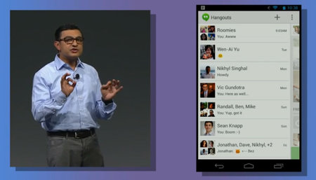 Google+ Hangouts now available, unified messaging and video calling across Android, iOS and web