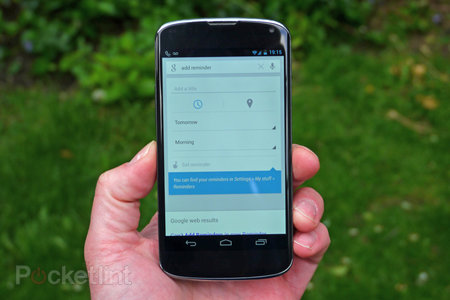 Google Now update brings live public transport info and reminders