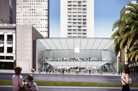 Apple plans new showcase store for San Francisco, with beautiful two-floor design