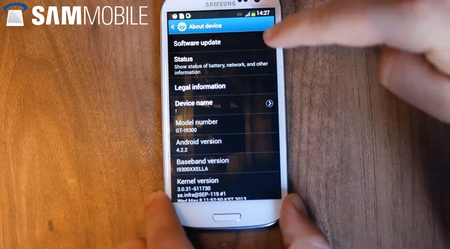Android 4.2.2 for Samsung Galaxy S III leak suggests SGS4-like updates