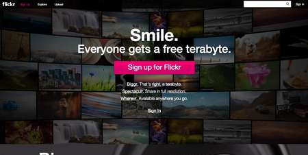 Yahoo announces big redesign for Flickr, everyone gets 1TB of photo storage