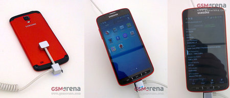 Samsung Galaxy S4 Active now caught on video too