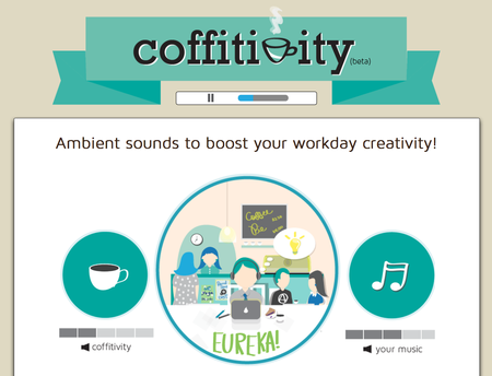 Website of the day: Coffitivity