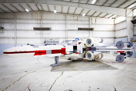 Life size X-Wing is largest Lego model ever built