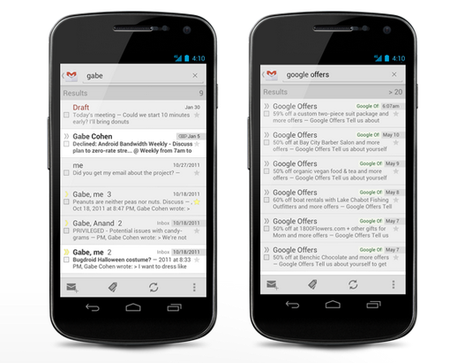 Possible Gmail for Android redesign leaks during Google I/O event