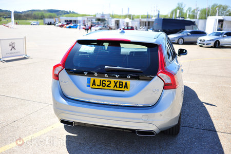 Volvo V60 D6 plug-in hybrid pictures and hands-on - photo 2