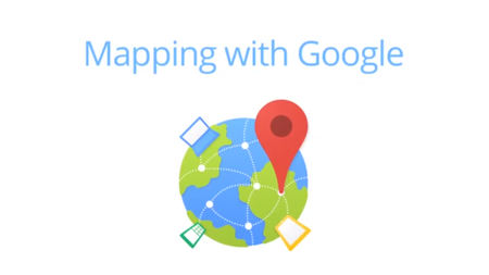 Google offers Mapping with Google online course and certification