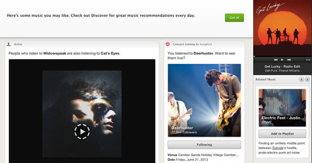 Spotify Discover launched, personalised music recommendations added