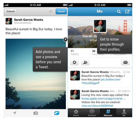 Twitter updates mobile apps with UI design refresh, wider timeline