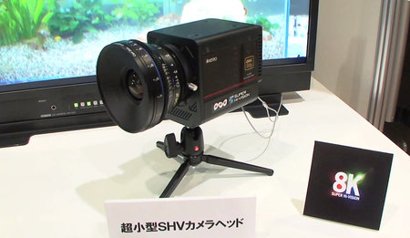 Forget 4K, NHK shows off compact 8K TV camera before Japanese broadcast trials