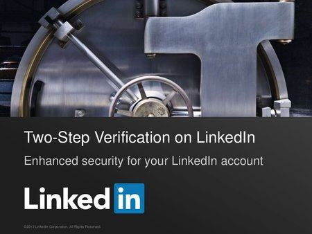 LinkedIn introduces optional two-step verification for account security